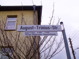 August-Trinius-Straße in Waltershausen